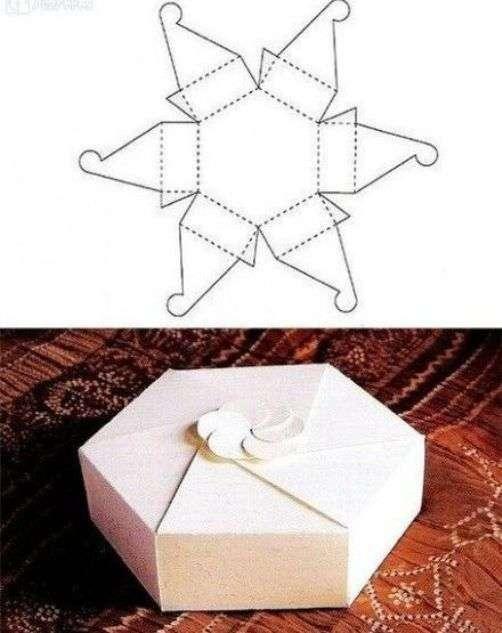 Как сделать новогоднюю подарочную коробку своими руками