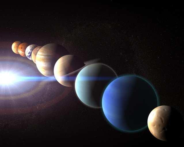 Парад планет 4 января 2015 года уменьшит гравитацию!