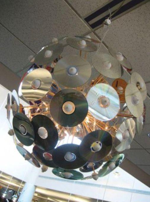 Как из cd дисков сделать елку