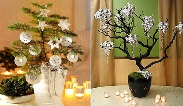 Как украсить дерево на новый год своими