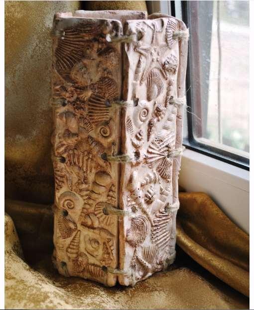 Напольная ваза из папье маше своими руками