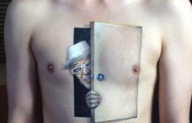 Реалистичные 3D тату, которые взорвут ваш мозг