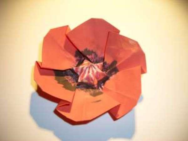 Оригами-цветы своими руками.