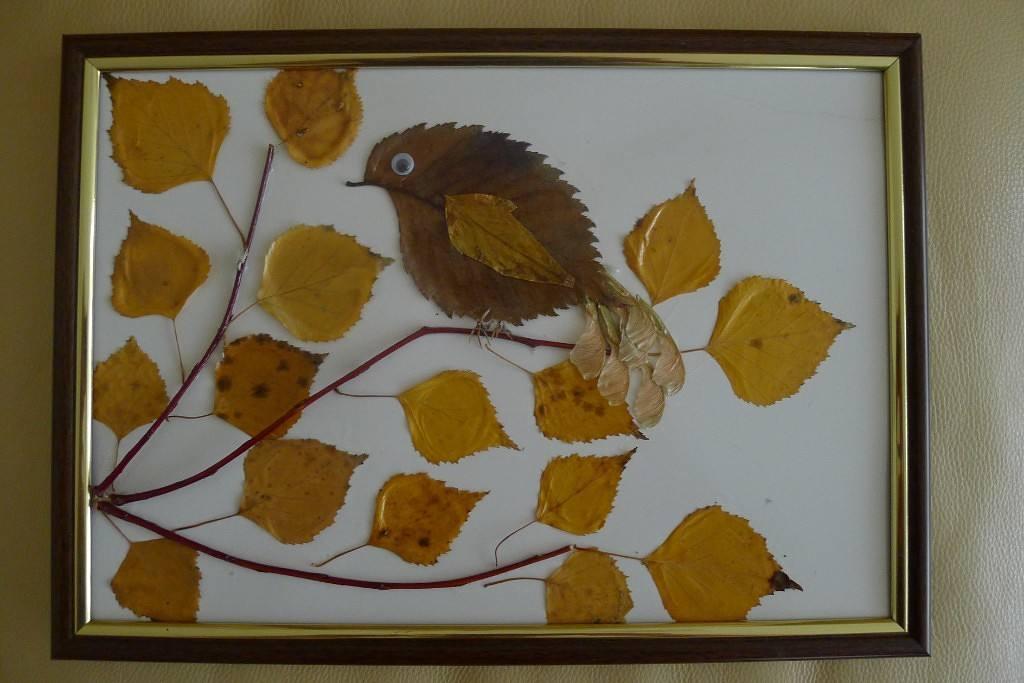 Простые поделки из природного материала на тему осень своими руками 55