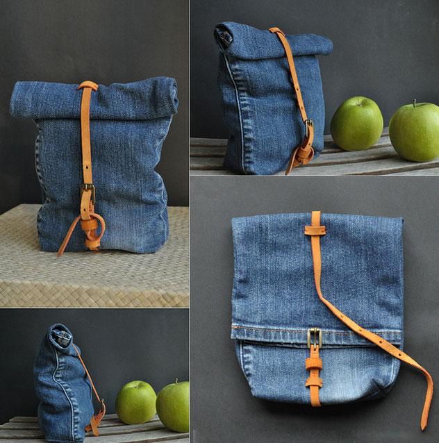 Как сшить сумку из старых джинсов своими руками выкройка