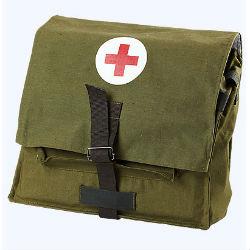 Сумка санитарная с укладкой Аптечки и санитарные сумки.