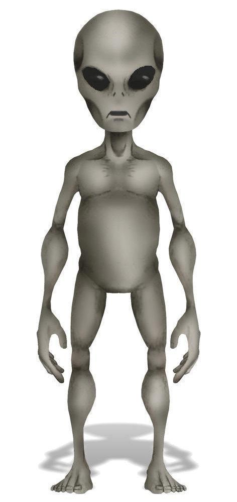 Рисуем инопланетянина в фотошопе
