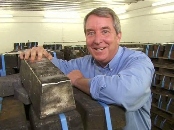 В Атлантическом океане нашли 61 тонну слитков серебра