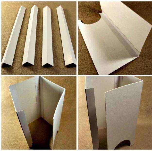 Фото как сделать коробку своими руками