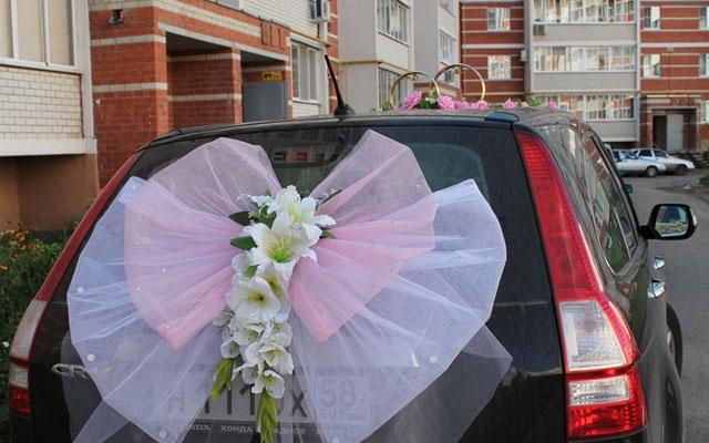 Свадебные сердца своими руками на машину