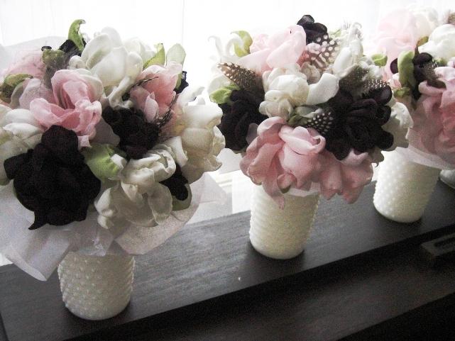Букет на свадьбу своими руками. Цветы из ткани