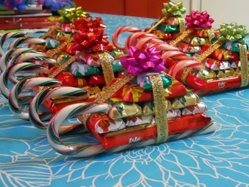 Новогодние подарки сладкие своими руками