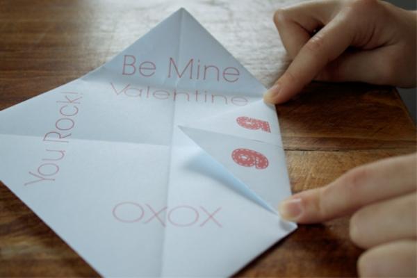 Оригами гадалка поэтапно