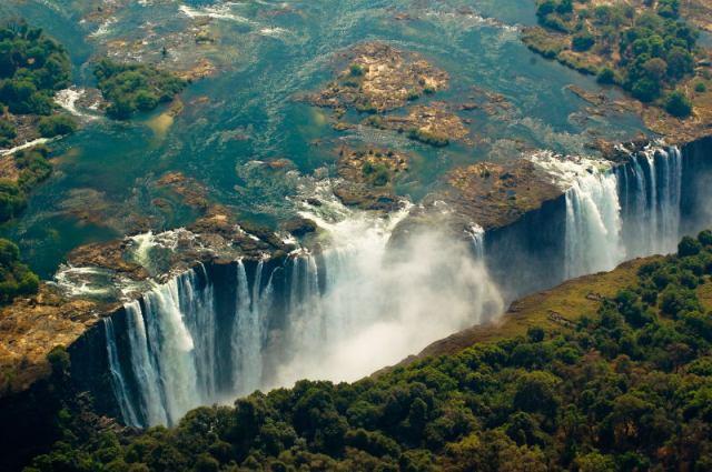Водопад виктория замбия и зимбабве