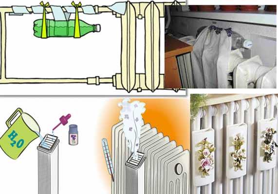 Увлажнитель воздуха в домашних условиях