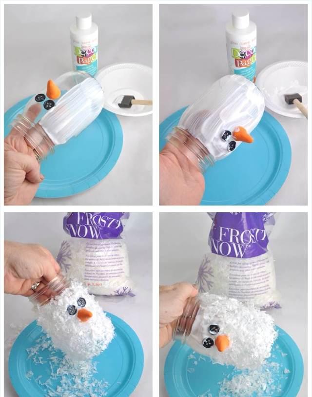 Как сделать своими руками снеговика в домашних условиях 38