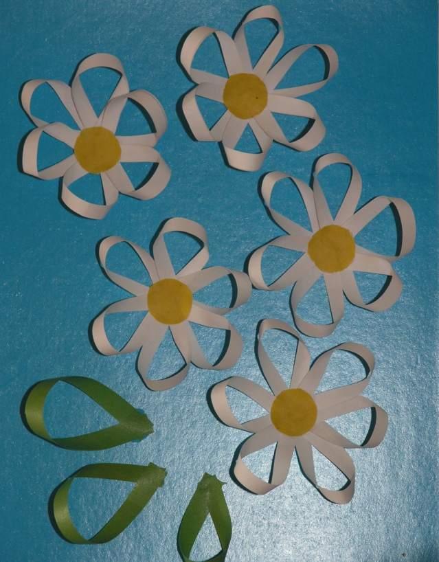 Как сделать цветы из двухсторонней бумаги
