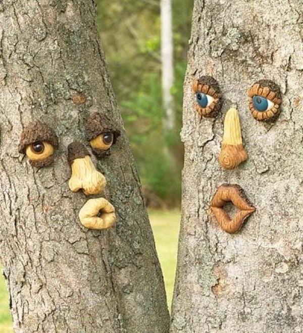 Поделки из дерева в сад своими руками фото