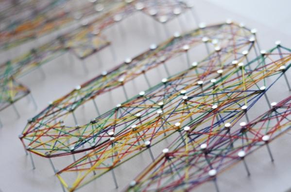Картина нитками своими руками